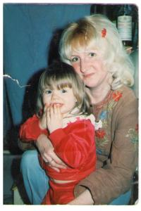 Little Wendy - with Mommy